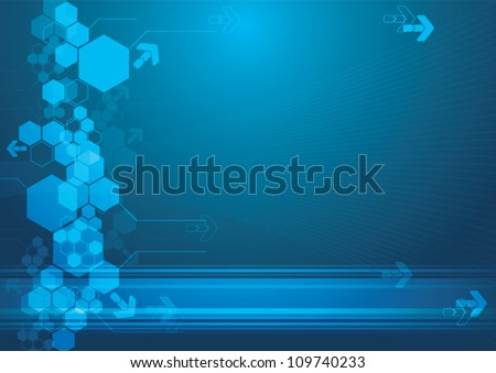 Abstract technology background - vector illustration