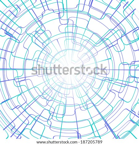 Abstract Technology Background. Vector illustration. #187205789