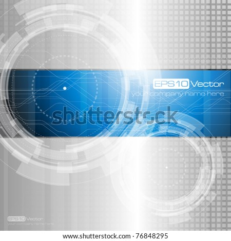 Abstract technology background - vector illustration - stock vector