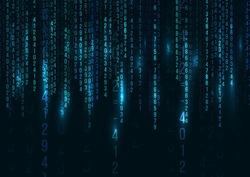 Abstract Technology Background. Web Developer. Computer Code. Programming. Coding. Hacker concept. Vector  Illustration.
