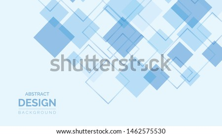 Abstract technology bright blue lines with light vector background. Concept for mobile wallpaper, web banner backdrop or typography design with place for text.