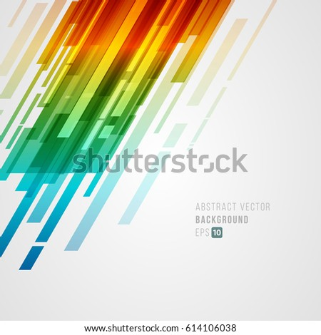 abstract technology bright