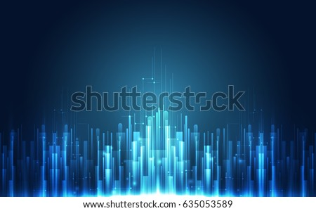Abstract technology concept. vector illustration background #635053589