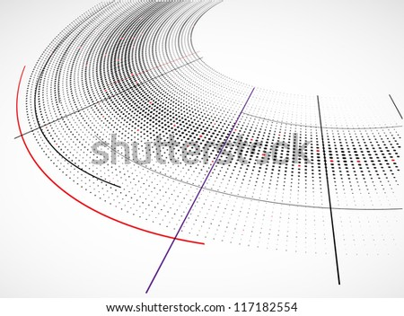 Abstract technology dynamic background