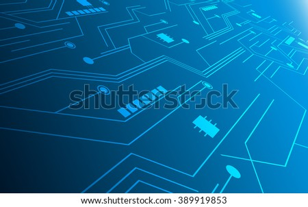 abstract technology future innovation concept circuit hi tech pattern design background