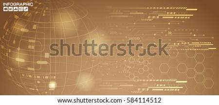 abstract technology hi tech