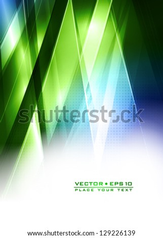 Abstract technology lines. Vector