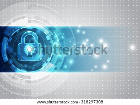 abstract technology security on