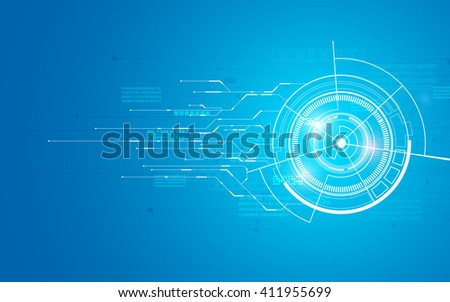 abstract technology telecoms