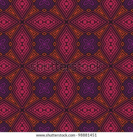 abstract technology vector seamless background. Colorful vector illustration