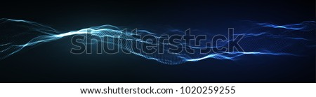 Abstract technology web banner. Background 3d grid. Ai tech wire network futuristic wireframe. Artificial intelligence . Cyber security background Vector illustration EPS 10