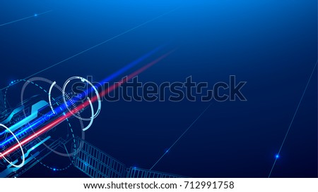 Abstract telecommunication technology background. VECTOR