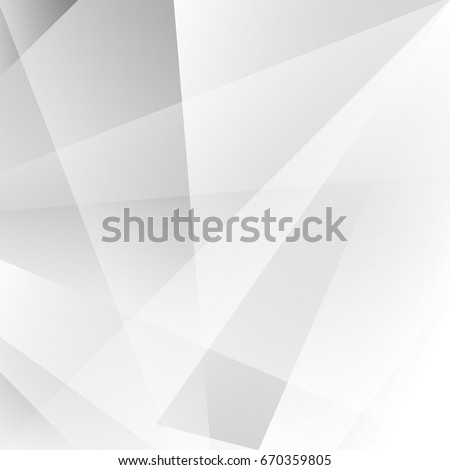 Abstract texture geometric White and gray color technology modern futuristic background,pattern, vector illustration #670359805