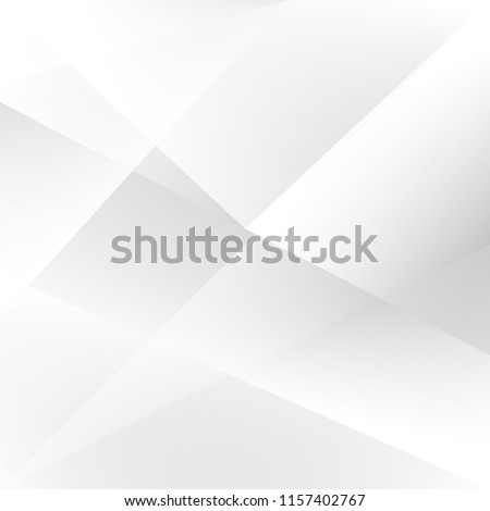 Abstract texture geometric White and gray color technology modern futuristic background, vector illustration #1157402767
