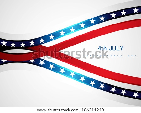 abstract 4th july american independence day
