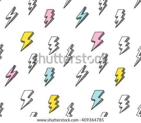abstract thunder background