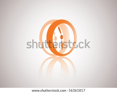 Abstract Time Symbol | Vector Watch Icon