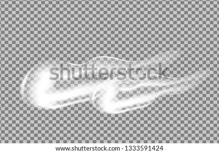 Abstract transparent figure. Vector transparent wave.  Flowing drops vector illustration.