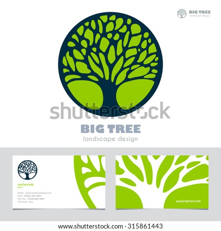 abstract tree sign   business