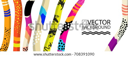 abstract trendy illustration