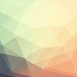Abstract triangle art - eps10