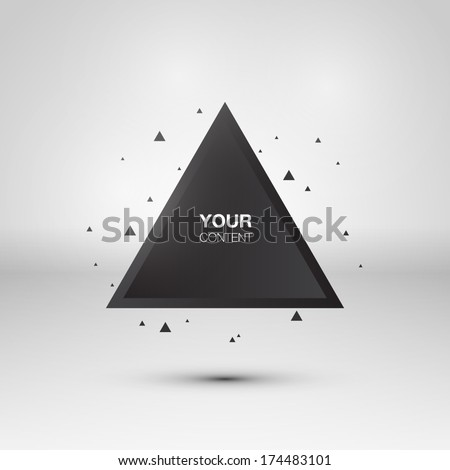 Stock Photo Abstract triangle background