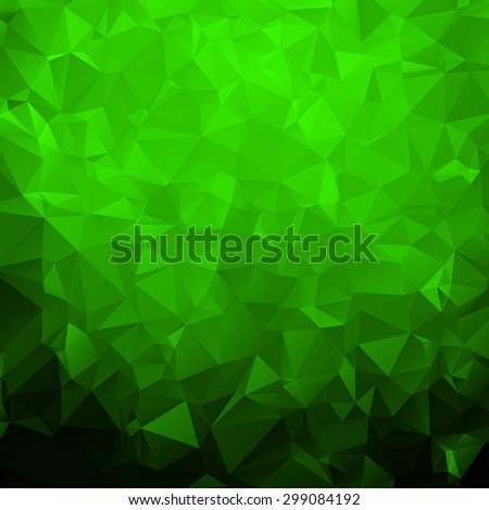 abstract triangle green texture