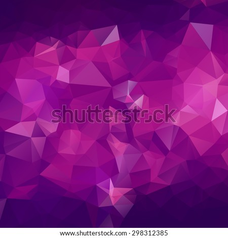 abstract triangle violet