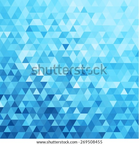 abstract triangles pattern