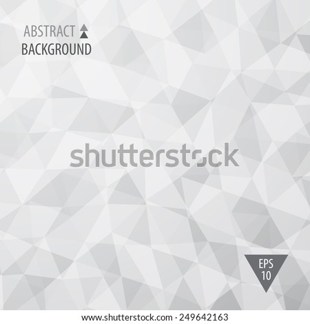 Abstract triangular low poly style vector background