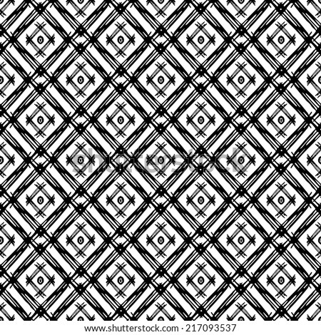 Abstract Tribal Art Ethnic Seamless Pattern Folk Repeating Background Texture Geometric Print Fabric