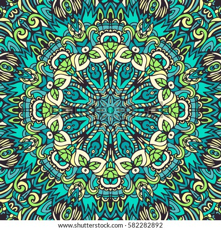 abstract tribal vintage ethnic...