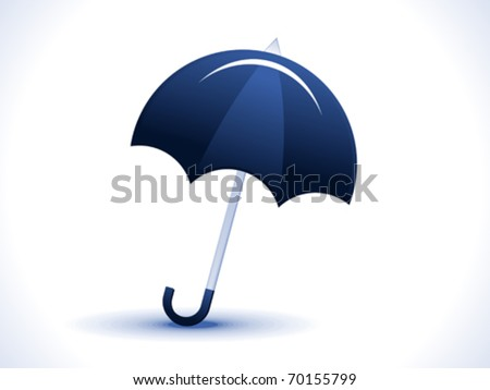 abstract umbrella icon vector illustration