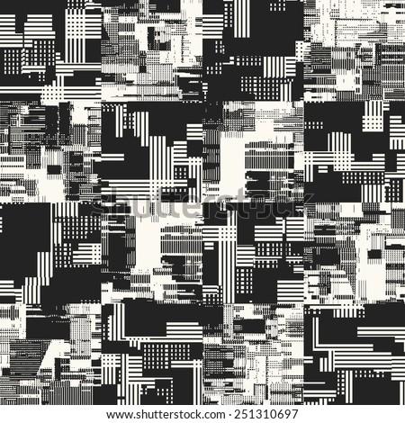 abstract urban motif  geometric