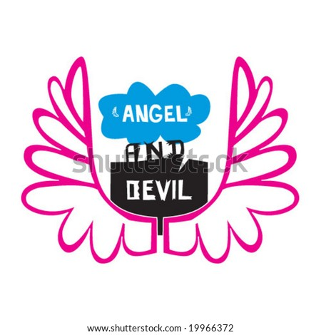 angel and devil tattoos meaning | all tattoo ideas / designs