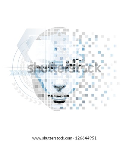 abstract vector artwork in high
