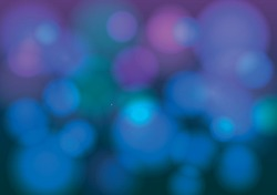 Abstract vector background. Blurred contours, bubbles, bokeh effect. Prompt cover. Electronic music.