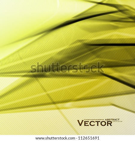 Abstract vector background for design, futuristic colorful illustration eps10