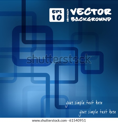 abstract vector background for web design. eps10