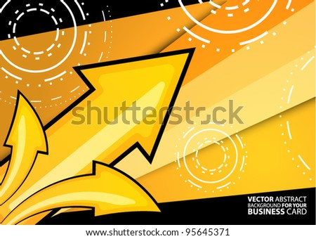 Abstract vector background for your business card