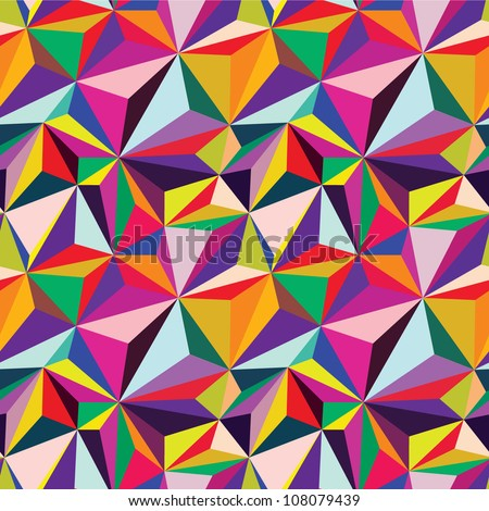 Abstract vector background. Geometric patterns