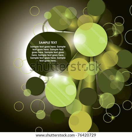 Abstract Vector Background. Illustration.