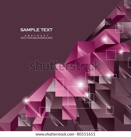 Abstract Vector Background. Illustration in Eps10 Format.