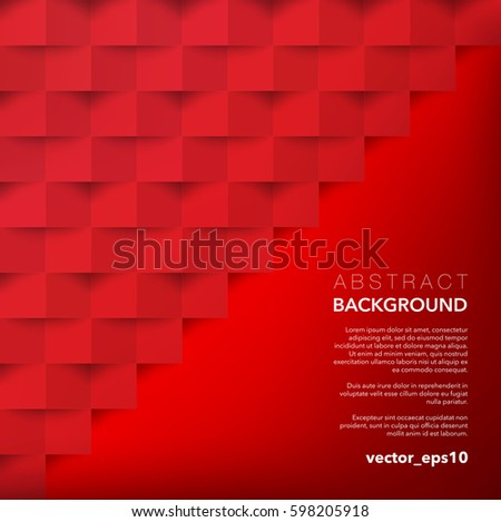 abstract vector background red