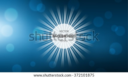 abstract vector background sun