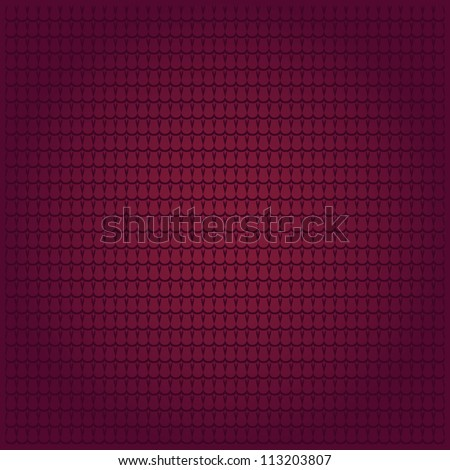abstract vector background with traditional tiles on red