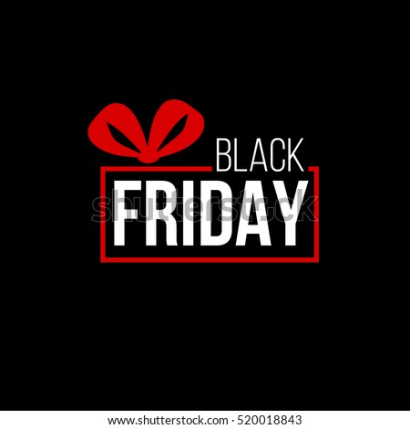 abstract vector black friday