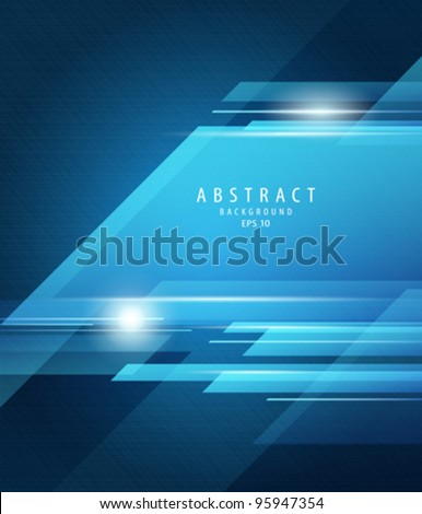 abstract vector blue