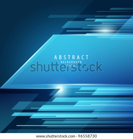 Abstract vector blue transparency background illustration