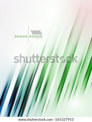 abstract vector blur lines